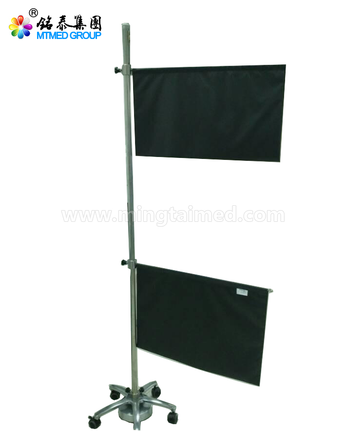 Electric Lift Mobile X Ray Protective Screens