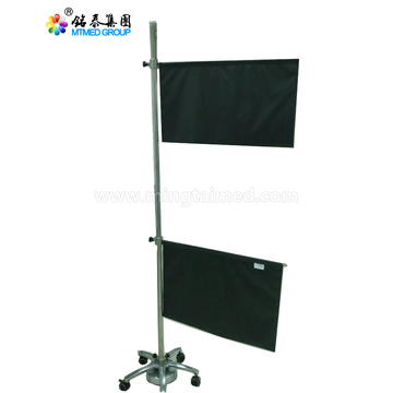 Electric lift mobile X-ray protective screens