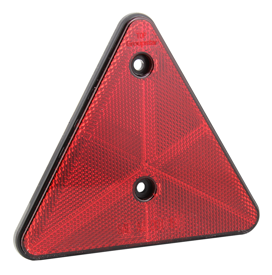 Screw Install Traingle Truck Trailer Reflectors
