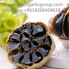 Export-grade non-cracked black garlic