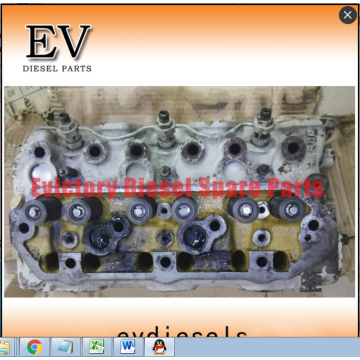 S6SDT cylinder head block crankshaft connecting rod