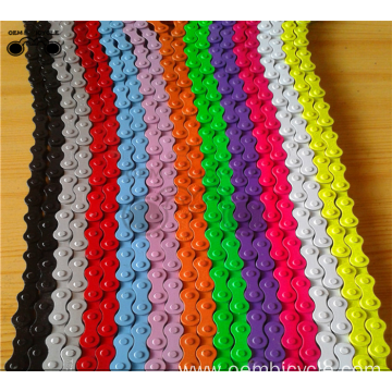 fixed gear bike /mountain bike chain single speed colorful bicycle chain
