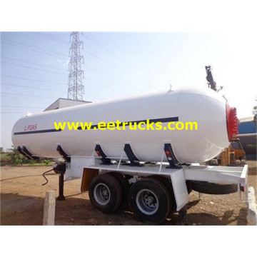 38000L 2 Axles Propane Semi-trailer Tanks
