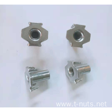 Half thread Fine grinding Stainless steel nuts