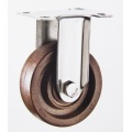 PF high temperature fixed stainless casters