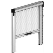 Retractable mesh window with sash cord