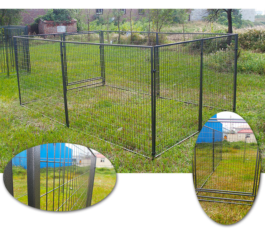 outdoor large dog kennel-1