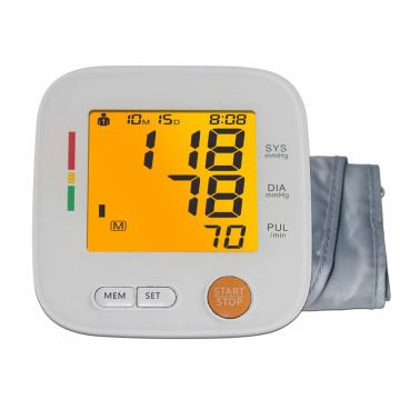 automatic arm blood pressure monitor with charger