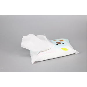 White Clean Wet Wipes Products