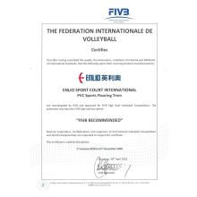 Top Quality for Anti-Slip Waterproof Volleyball Sports Flooring FIVB Volleyball Flooring mat export to Portugal Factories