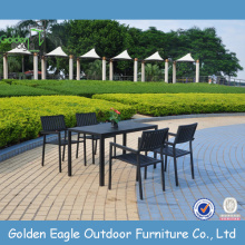 Outdoor cheap price dining set in garden