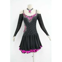 PriceList for for Latin Dress Patterns Ladies latin ballroom dresses export to Indonesia Importers