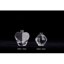 50ml Luxury Special-shaped Clear Glass Perfume Bottles