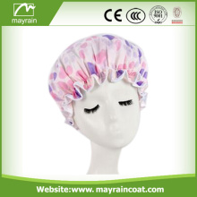 Fashion Beautiful Terry Shower Cap For Women
