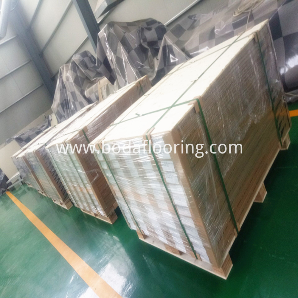 Pallet Packaging click floor