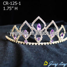 Hot Sell Rhinestone Cheap Girl Tiaras