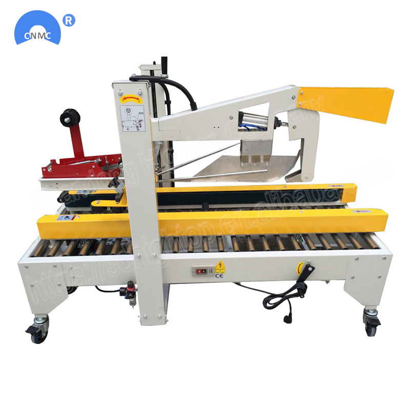 Carton Box Sealing Taping Machine With Flaps