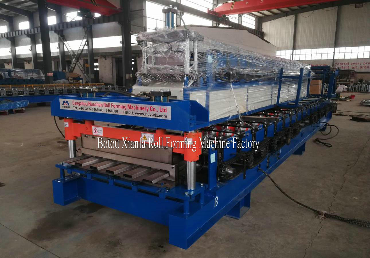 container panel roll forming machine