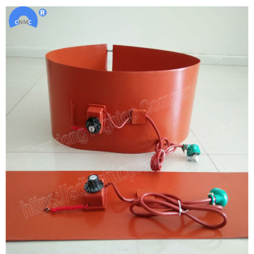 1740*250cm rubber insulation oil drum flexible belt heater
