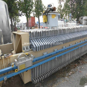 Hydraulic High Effective Sewage Plate Frame Filter Press