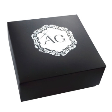 Luxury Branded Black Color Wrist Watch Paper Box