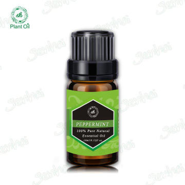 100% natural Peppermint Oil aromatherapy essential oil set