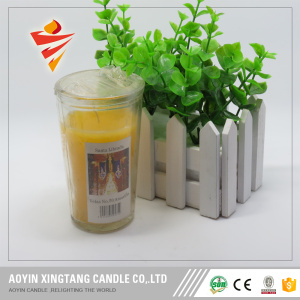 Paraffin wax votive candle religious candle jars