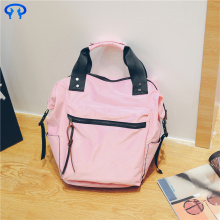 Nylon waterproof backpack handbag