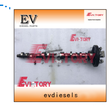 PERKINS engine excavator 404C-22T crankshaft camshaft