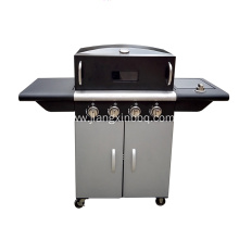 China for China Propane Gas BBQ Grill,Propane Gas Grill,Propane BBQ Supplier Backyard Gas Pizza Oven For Sale export to Spain Importers