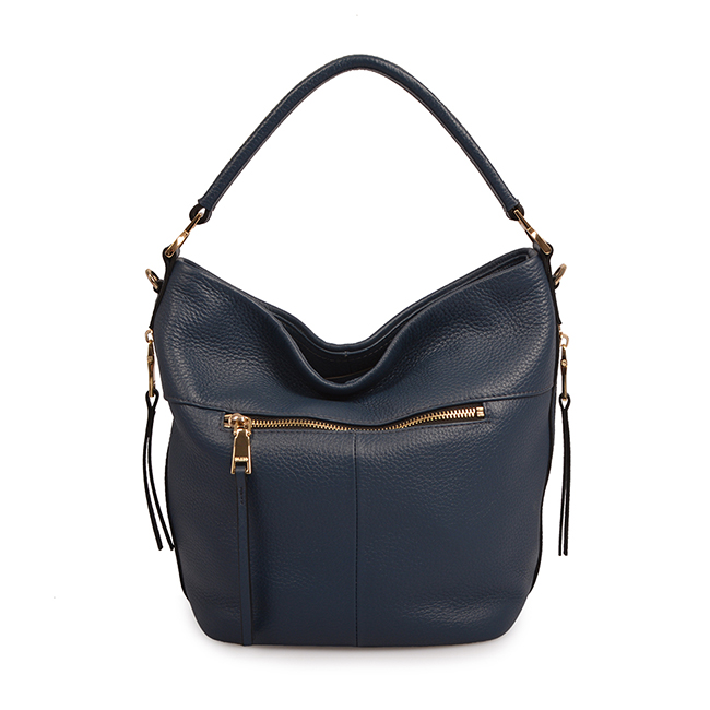 genuine leather women large shoulder bag