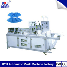China for Double Layers Shoe Cover Making Machine PE Plastic Disposable Shoes Cover Making Machine supply to Germany Wholesale