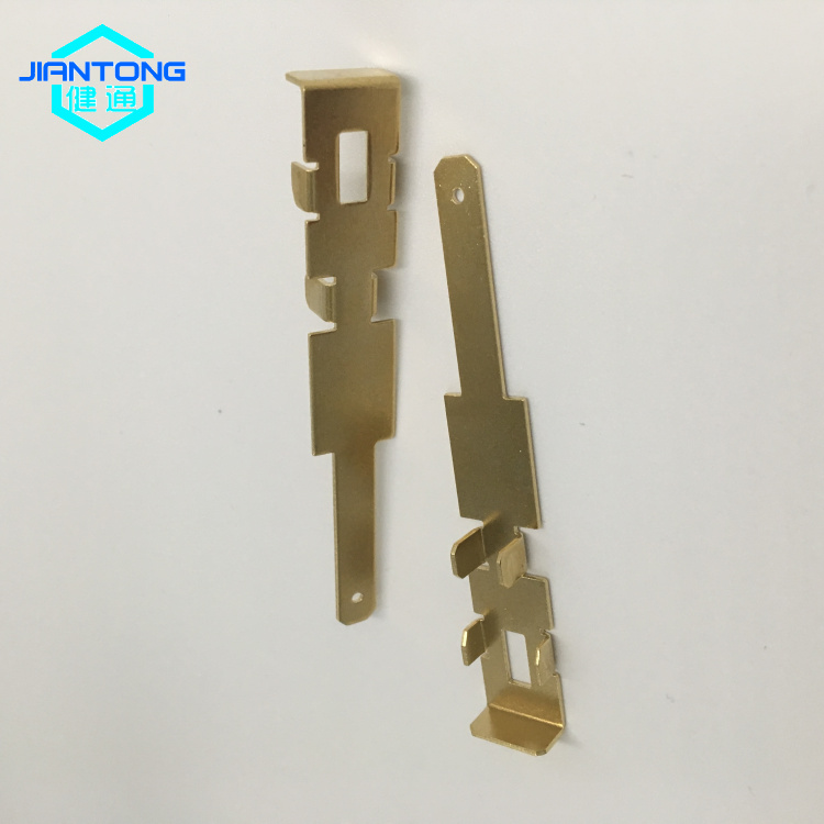 Stamped Brass Electrical Parts Brass Stamping Hardware