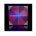Slim Red & Blue 45W LED svieti svetlom