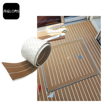 Non-slip EVA Teak Decking Strip For Boat