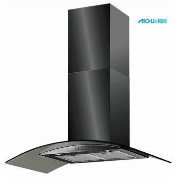 100 cm Glass Chimney Hood