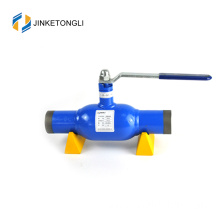 Fully welded flow balance floating ball valve