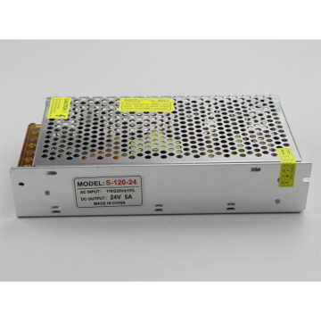 24V Witching LED Power Supply Open Frame 120W