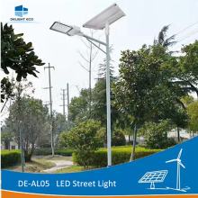 OEM/ODM Supplier for Parking Lot Street Luminaire DELIGHT DE-SAL05 Residential Solar Powered Street Lights supply to Sao Tome and Principe Exporter
