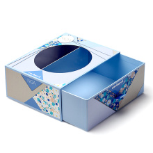 Square Cardboard Gift  Drawer Paper