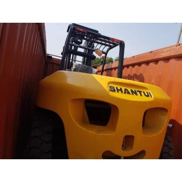 10t forklift TRUCK with automatic move fork
