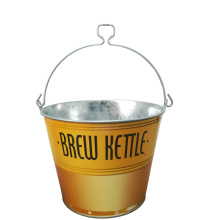 Factory directly sale for China 5Qt Ice Bucket,Galvanized Ice Bucket,Bar Ice Bucket Supplier 5QT Ice bucket with bottle opener handle export to Italy Supplier