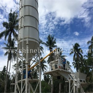 30 Wet Portable Concrete Batch Plant