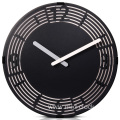 Living room decorative wall clock with numbers