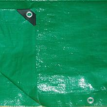 Green PE tarpaulin for cover