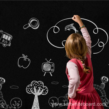 Dry Dry Erase Black Magnetic Wall Chalkboard For Kid