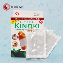 Europe style for China Kinoki Detox Foot Patch,Bamboo Vinegar Detox Patch,Ginger Wormwood Detox Foot Patch Factory Real good wood vinegar detox healthcare foot pad supply to Saint Lucia Manufacturer