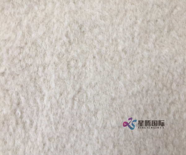 Long Hair Alpaca Woven Fabric