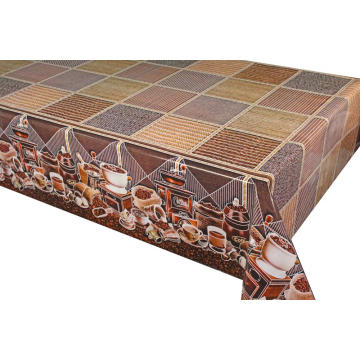 Pvc Printed fitted table covers Table Runner 7ft
