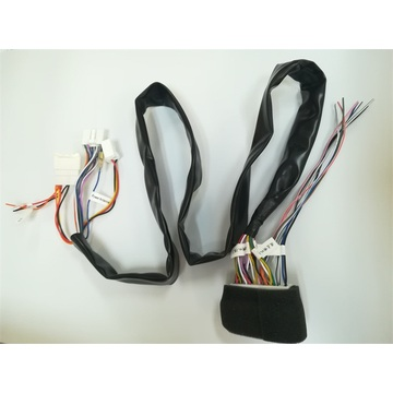 Radio wiring harness colors